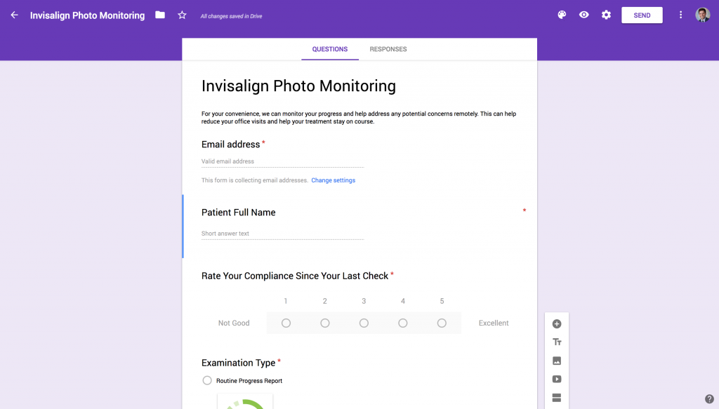 Photo Monitoring Google Form
