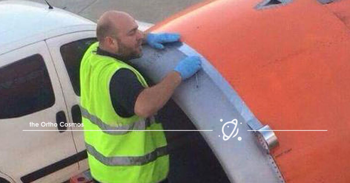 Airplane Speed Tape
